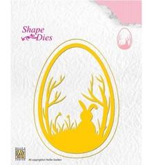 Nellie Snellen Shape Die Easter Egg (SD125)