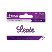 Die'sire Lente Words Metal Die (DS-E-W-44-NL)
