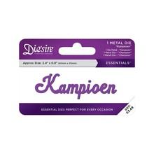 Die'sire Kampioen Words Metal Die (DS-E-W-66-NL)