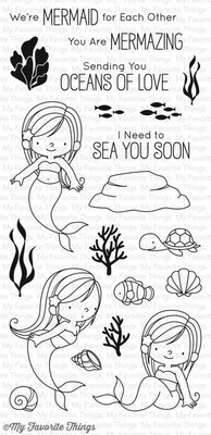 My Favorite Things Mermazing Clear Stamps (BB-45)