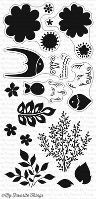 My Favorite Things Exquisite Ocean Clear Stamps (CS-198)