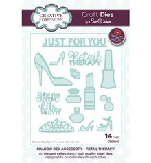 Creative Expressions Shadow Boxes Collection Retail Therapy Craft Dies (CED9310)