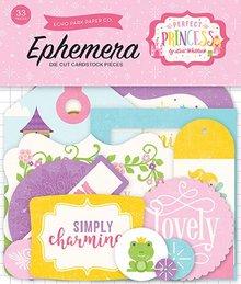 Carta Bella Perfect Princess Ephemera Frames & Tags (PP130021)