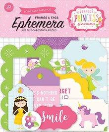 Carta Bella Perfect Princess Ephemera (PP130024)