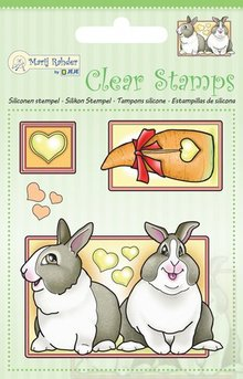 Marij Rahder Clear Stamps Rabbits (9.0041)