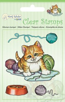 Marij Rahder Clear Stamps Cat (9.0042)