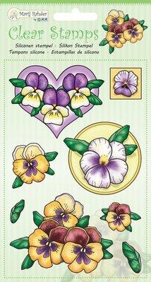 Marij Rahder Clear Stamps Violets (9.0047)