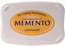 Tsukineko Memento Cantaloupe Dye Ink Pad (ME-103)