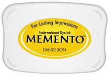 Tsukineko Memento Dandelion Dye Ink Pad (ME-100)