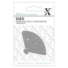 Xcut Mini Die (1pc) - Floral Fan (XCU 503079)