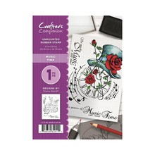 Crafter's Companion Music Time Unmounted Rubber Stamp Set (CC-ST-MT)