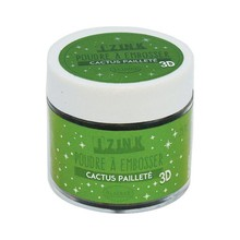 Aladine Embossing Powder 25 ml Cactus Paillete (10201)