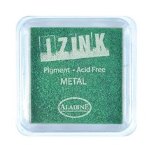 Aladine Inkpad Izink Pigment Metal Light Green (19131)