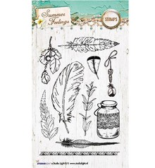 Studio Light Summer Feeling Clear Stamps (STAMPSF189)