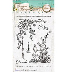 Studio Light Summer Feeling Clear Stamps (STAMPSF190)