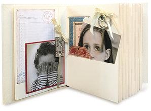 Graphic 45 Rectangle Tag & Pocket Album - Ivory (4501518)