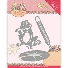 Yvonne Creations Get Well Soon Get Well Frog Cutting Die (YCD10103)