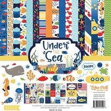 Echo Park Under The Sea 12x12 Inch Collection Kit (US131016)