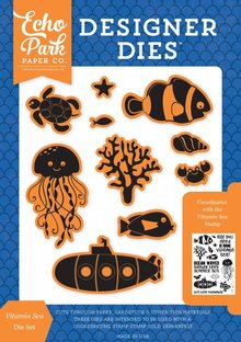 Echo Park Under The Sea Vitamin Sea Die Set (US131042)
