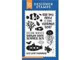 Echo Park Under The Sea Vitamin Sea Stamp Set (US131043)