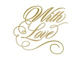 Couture Creations Anna Griffin Hot Foil Stamp Die With Love (CO725289)