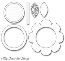 My Favorite Things Shaker Flower (MFT-1107)