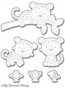 My Favorite Things Loveable Leopards (MFT-1115)