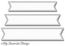 My Favorite Things Stitched Fishtale Sentiment Strips (MFT-1123)
