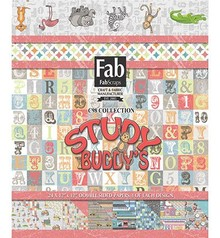 FabScraps Study Buddy's 12x12 Inch Paper Pad (PP98 001)