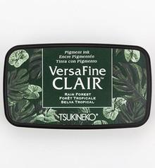 Tsukineko VersaFine Clair Rain Forest Ink Pad (VF-CLA-551)