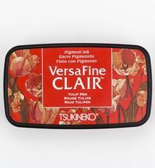 Tsukineko VersaFine Clair Tulip Red Ink Pad (VF-CLA-702)