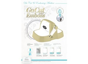 Couture Creations GoCut & Emboss Machine + €30,00 GOODIEBAG