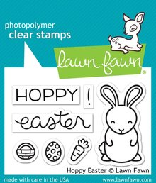 Lawn Fawn Hoppy Easter Clear Stamps (LF1319)