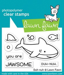 Lawn Fawn Duh-Nuh Clear Stamps (LF1419)