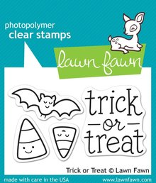 Lawn Fawn Trick or Treat Clear Stamps (LF554)