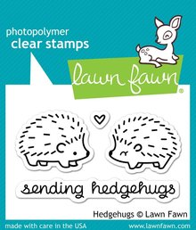 Lawn Fawn Hedgehugs Clear Stamps (LF729)