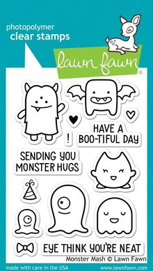 Lawn Fawn Monster Mash Clear Stamps (LF700)