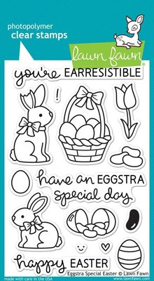Lawn Fawn Eggstra Special Easter Clear Stamps (LF840)