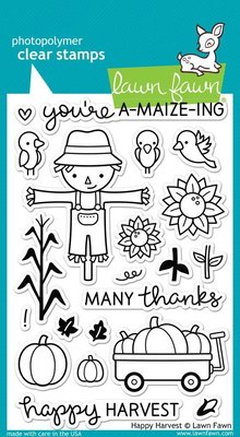Lawn Fawn Happy Harvest Clear Stamps (LF971)