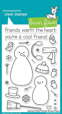 Lawn Fawn Making Frosty Friends Clear Stamps (LF362)