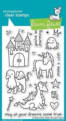 Lawn Fawn Critters Ever After Clear Stamps Clear Stamps (LF382)