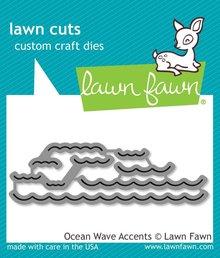 Lawn Fawn Ocean Wave Accents Dies (LF1436)