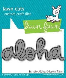 Lawn Fawn Scripty Aloha Dies (LF1431)