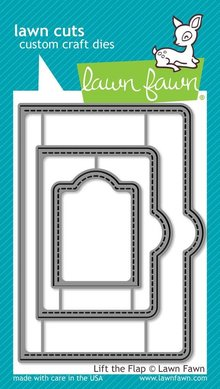 Lawn Fawn Lift the Flap Dies (LF1439)
