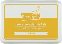 Lawn Fawn Premium Dye Ink Pad Sunflower (LF862)