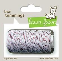 Lawn Fawn Red Sparkle Hemp Cord (LF922)