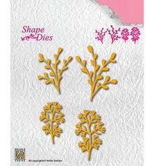 Nellie Snellen Shape Die Leaves 3 (SD134)