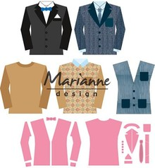 Marianne Design Collectable Men's Wardrobe (COL1434)