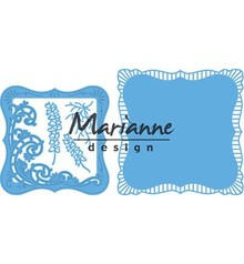 Marianne Design Creatable Anja's Frilly Square (LR0470)
