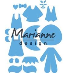 Marianne Design Creatable Kim's Buddies (LR0474)